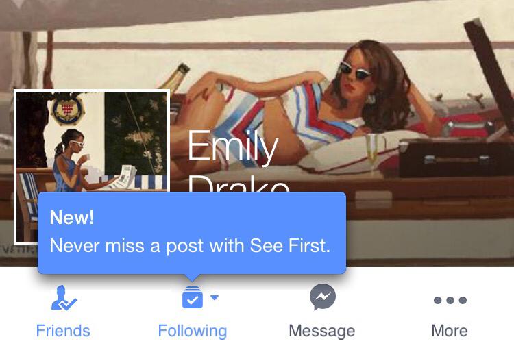"""Mit """"See First""""-Feature überlässt Facebook euch die Kontrolle, was ihr als erstes im Newsfeed sehen wollt"""