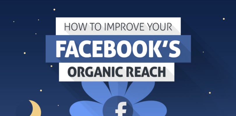 Infografik: Tipps für eine höhere organische Reichweite