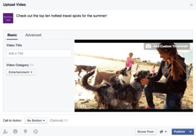 Facebook-Videos: Mehr Personalisierung und Optionen mit dem neuen Publisher