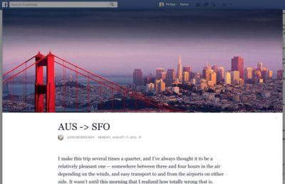 Das nächste große Ding? Facebook Notes vor dem Revival mit neuem Design & neuen Funktionen
