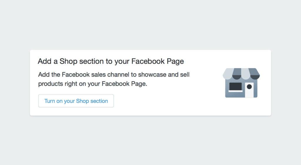Revival: Facebook bringt mit Shopify die Shops zurück auf eure Seiten!