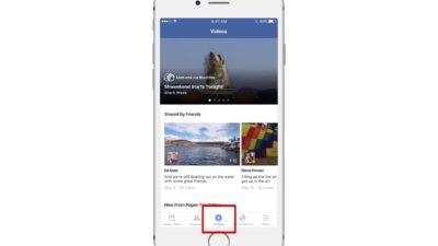 Facebook macht Videos zum zentralen Bestandteil der App und testet eigenen Newsfeed