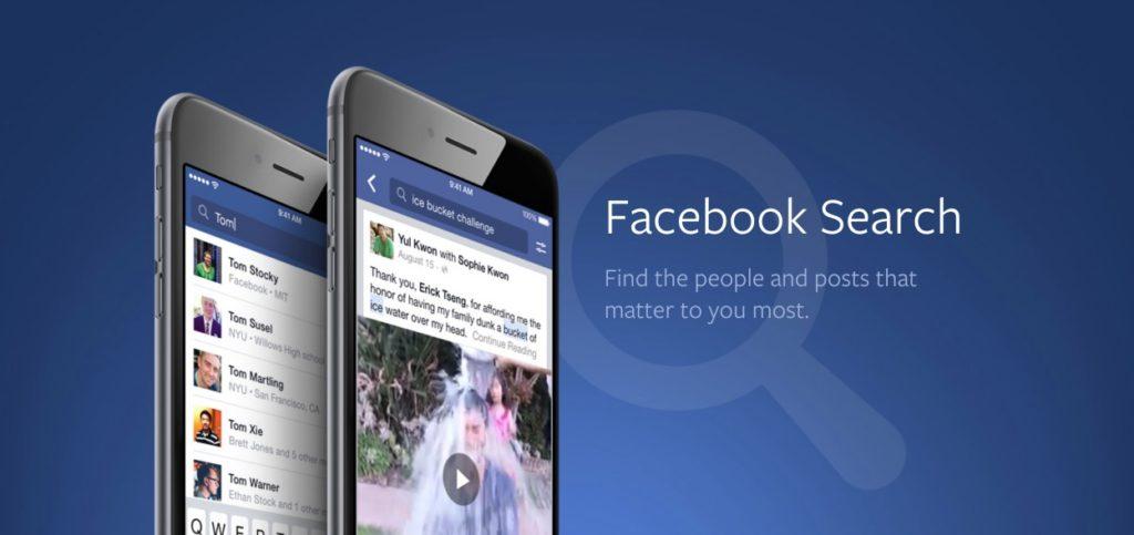 Die neue Facebook-Suche macht über 2 Billionen Posts zugänglich und bietet viele neue Features