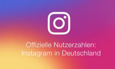 Offizielle Nutzerzahlen: Instagram in Deutschland und Weltweit