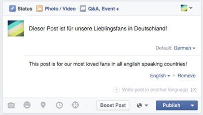 So gehts: Mehrsprachige Posts und Übersetzungen für die eigene Seite aktivieren