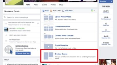 Best Practices: 7 kreative Facebook Canvas Beispiele