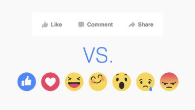 Update am Newsfeed Algorithmus: Mehr Reichweite für Inhalte mit Reactions
