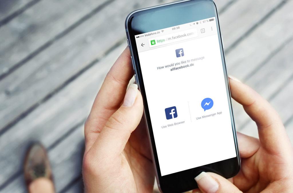 Facebook Messenger jetzt mit URL, Nutzernamen und Grußnachricht für Unternehmen!