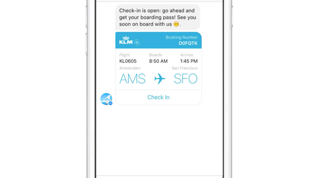 Messenger for Business: Was bedeutet der KLM Case?