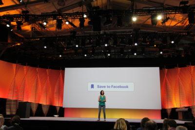 """Der neue """"Save to Facebook"""" Button: So könnt Ihr ihn ab sofort nutzen (F8 2016)"""