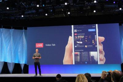 Facebook öffnet Live API für Entwickler (f8 2016)