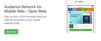 Jetzt verfügbar: Audience Network für mobile Webseiten
