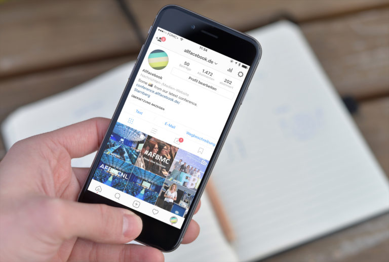 Der komplette Rundgang: Instagram Business Account mit Statistiken