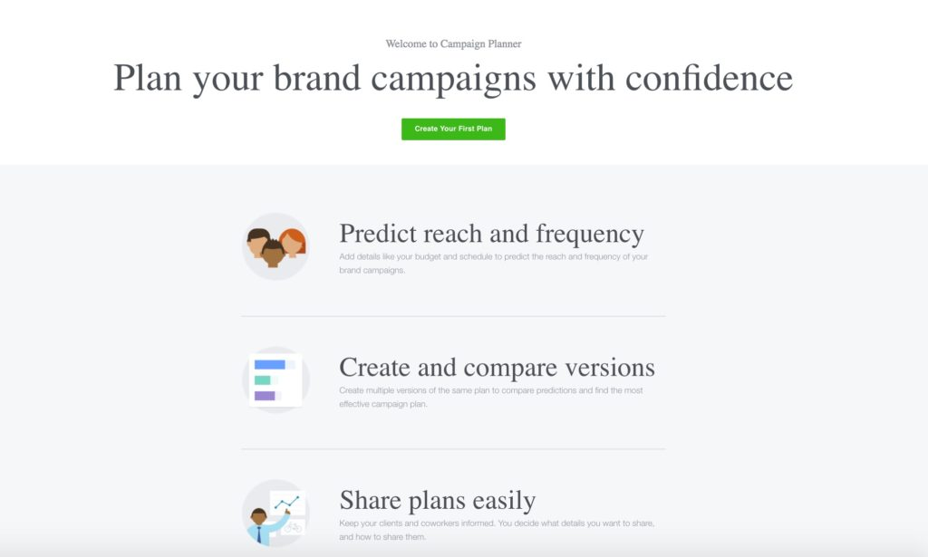 Überblick: Der neue Facebook Kampagnen Planer