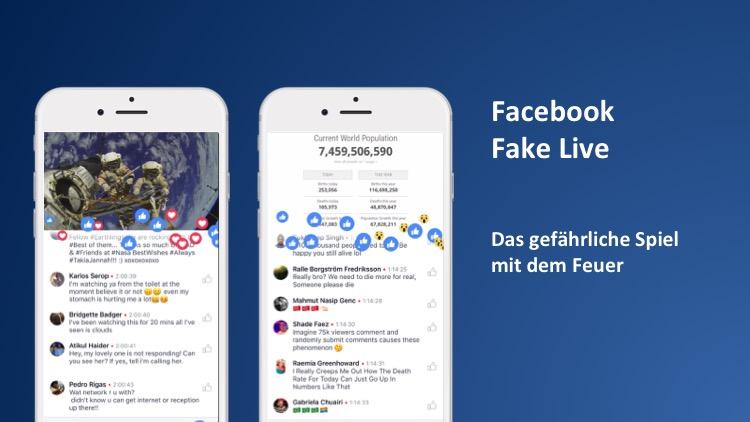 Das Facebook Live Dilemma: wenn man für mehr Reichweite seine eigenen Fans verarscht