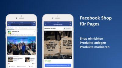Tutorial: Facebook Shop für Seiten einrichten und Produkte taggen