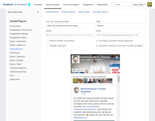 allfacebook_schwenke_custom_audiences_facebook_page_plugin
