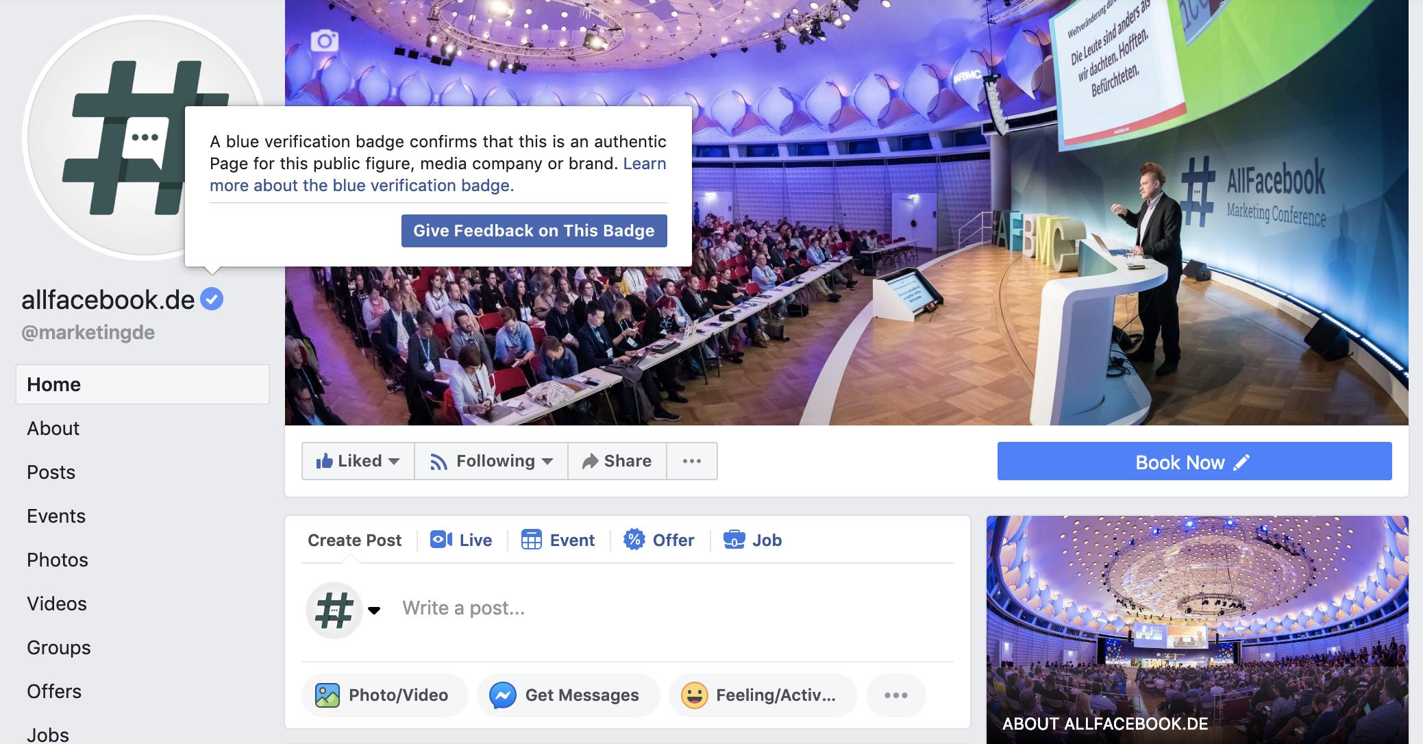 Bedeutet haken was facebook messenger bei grauer Facebook Messenger