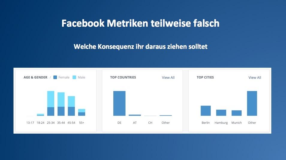 Facebook zählt falsch – Das solltet ihr daraus lernen