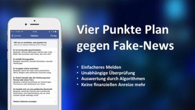 Facebooks will gegen Fake-News vorgehen