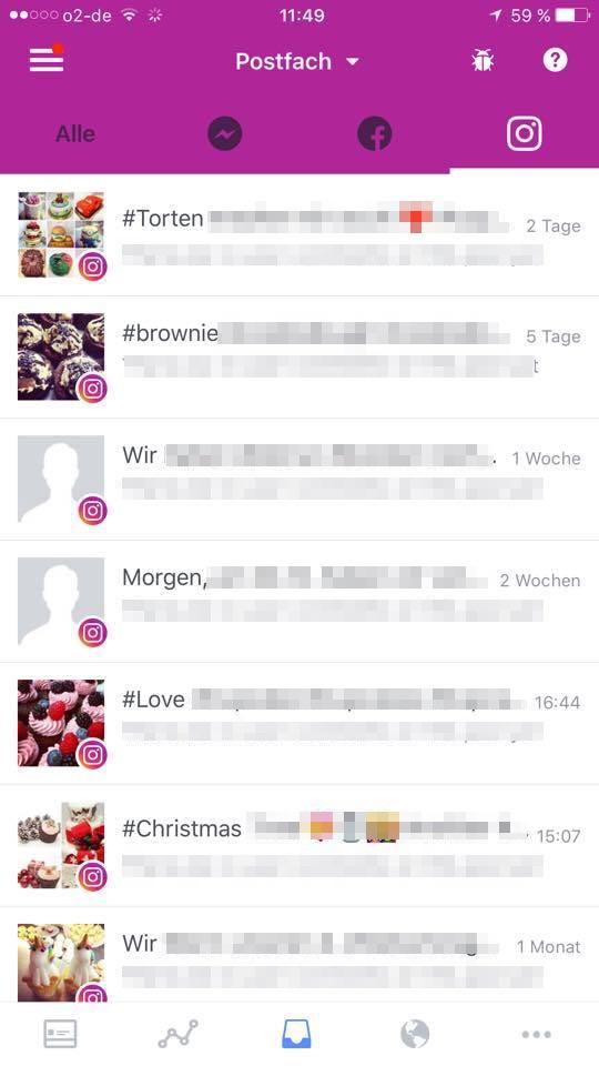 Facebook messenger nachrichten als gelesen markieren