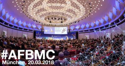 Nur noch heute: Super Early Bird Tickets für die #AFBMC am 20. März 2018 in München