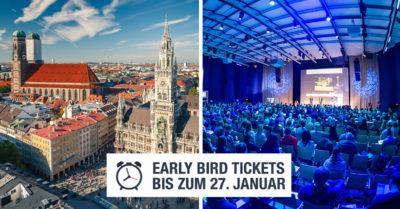 Noch bis Freitag: Early Bird Tickets für die #AFBMC am 14. März 2017 in München