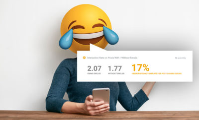 Studie: Mehr Interaktionen auf Instagram durch Emoji ?