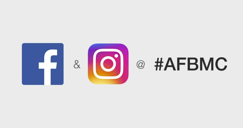 Facebook & Instagram auf der #AFBMC Bühne