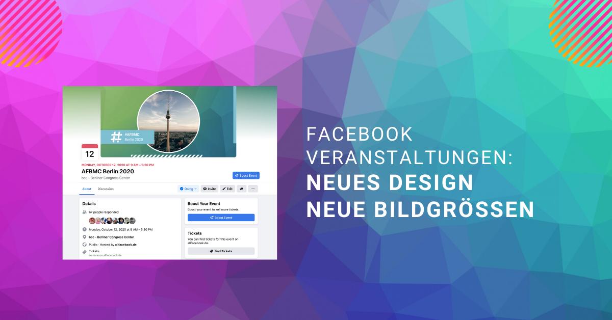 Bildgröße veranstaltung facebook Facebook Bildgrößen