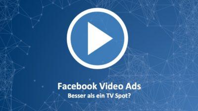 Wie Facebook mit günstigen Preisen und Mehrwert der TV Werbung das Wasser abgräbt