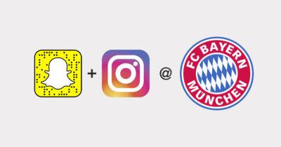 Instagram & Snapchat strategisch bespielen am Beispiel des FC Bayern München @AFBMC