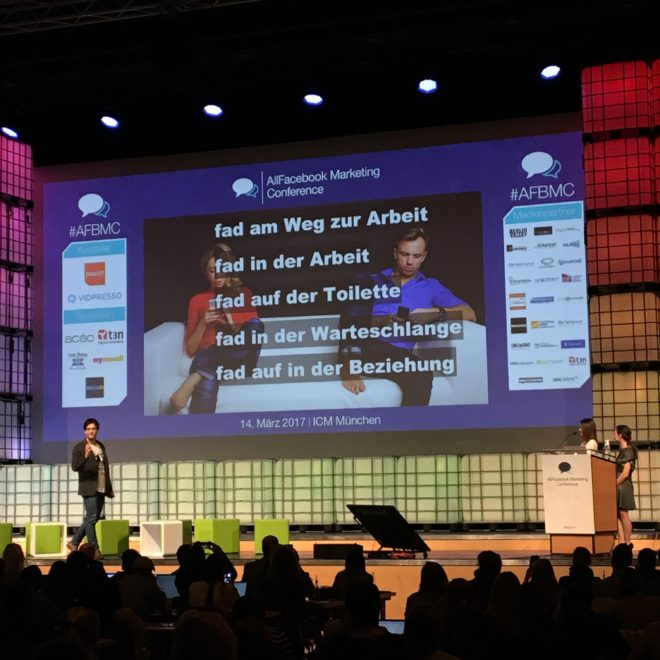 Allfacebook Marketing Conference 2017 in München #AFBMC #Palmers