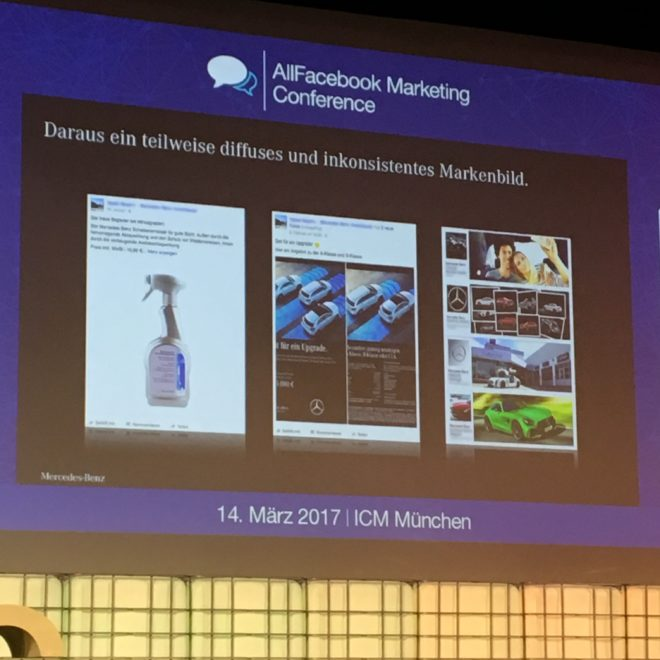 Allfacebook Marketing Conference 2017 in München #AFBMC #MercedesBenz