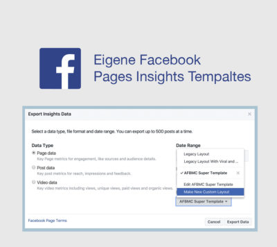 Tutorial: Facebook Insights mit eigenen Excel Vorlagen –  Reporting Like a Pro!