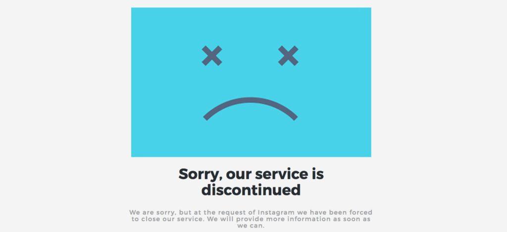 Instagram greift bei Drittanbieter Tools durch