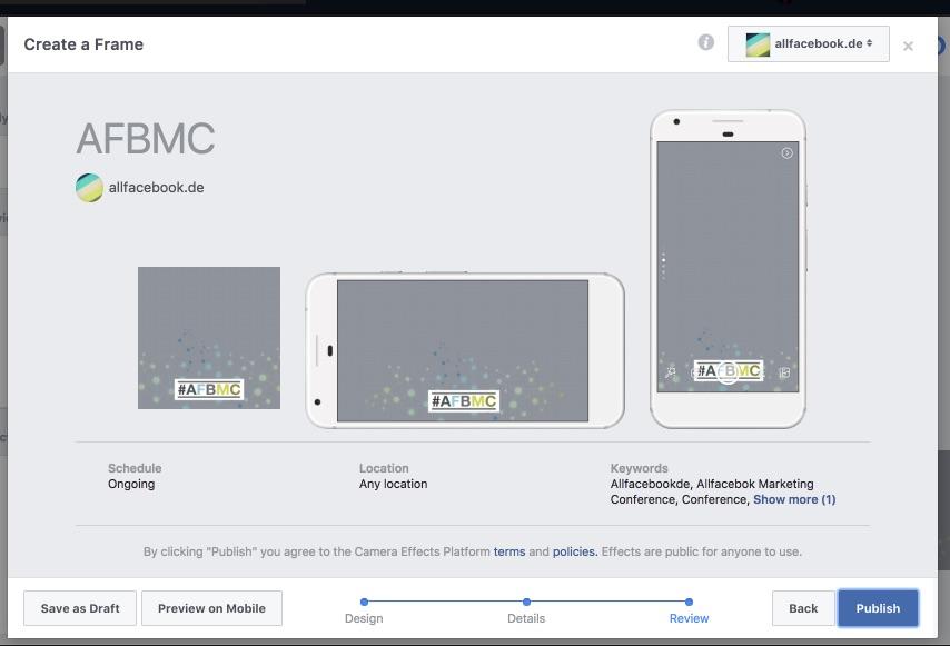 Tutorial: Eigene Facebook Kamera Filter und Rahmen mit dem Frame ...