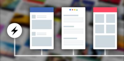 Facebook macht über Erweiterungen Instant Articles auch für Google AMP & Apple News verfügbar