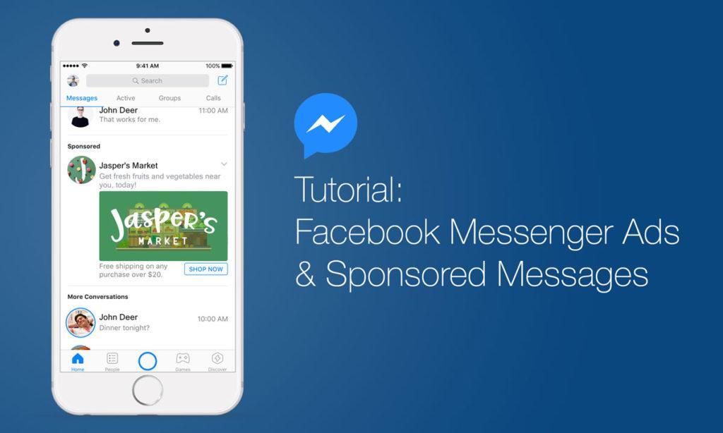 Tutorial: So schaltet ihr Anzeigen im Facebook Messenger