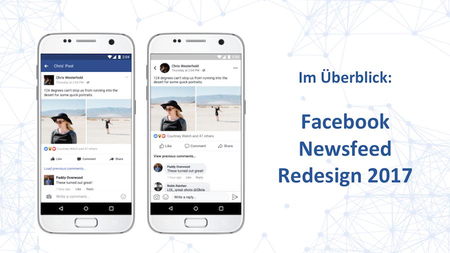 Facebook Redesign 2017: Alles, was du jetzt wissen musst