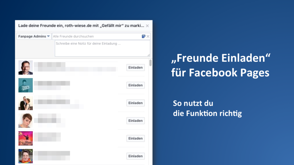 """Fans generieren über aktualisierte """"Freunde einladen""""-Funktion"""