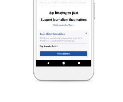 Im Test: Instant Articles mit Paywall für Abo-Modelle