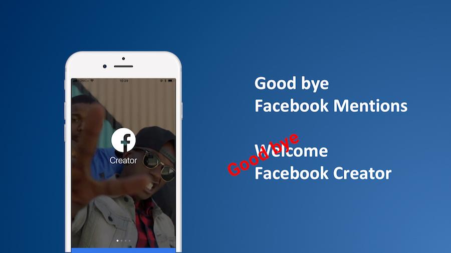 Creator / Mentions App – Facebook stellt App für Promis und VIPs ein