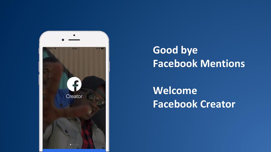 Facebook Creator als Nachfolger der Facebook Mentions App verfügbar für alle