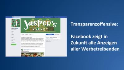 Neue Transparenzoffensive: Seitenbetreiber müssen ab Sommer 2018 alle Ads offen legen