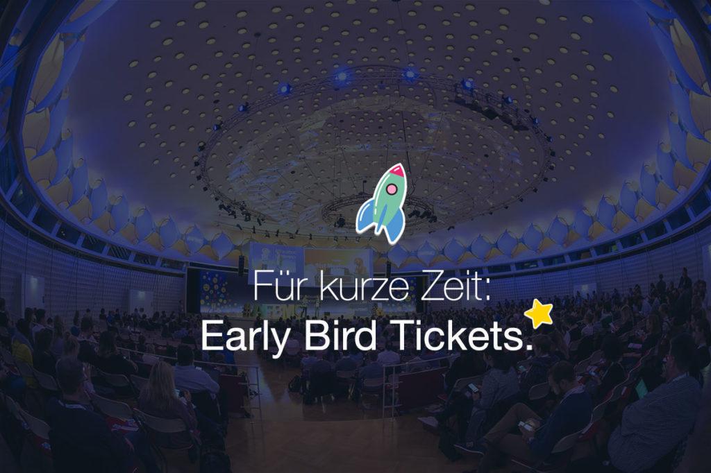 Nur noch bis Freitag! Early Bird Tickets für die #AFBMC am 20. März 2018 in München