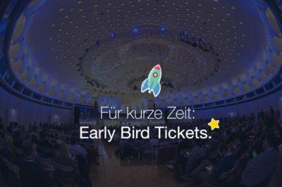 Early Bird Tickets für die #AFBMC am 20. März 2018 in München