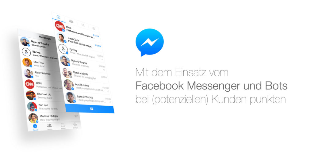 Messenger Marketing (by Facebook) und Messenger Analytics auf der  #AFBMC