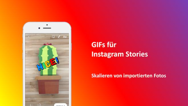 Next Feature Gifs In Instagram Stories Allfacebookde