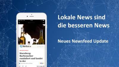 Zuckerberg: Lokale Nachrichten sind die besseren Nachrichten